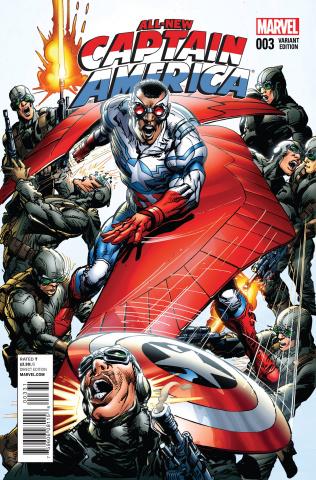 All-New Captain America #3 (Adams Cover)