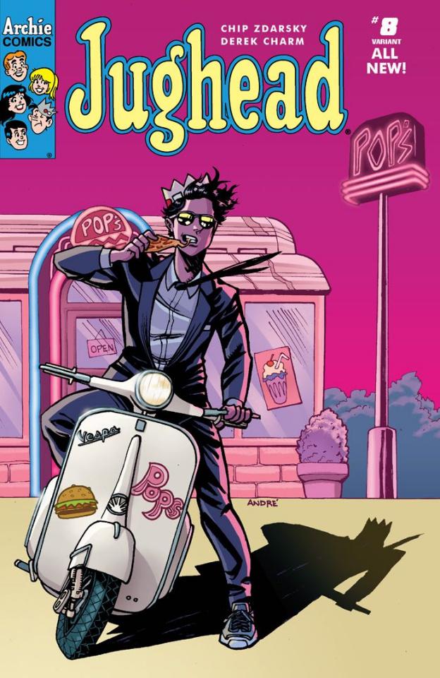 Jughead #8 (Szymanowicz Cover)