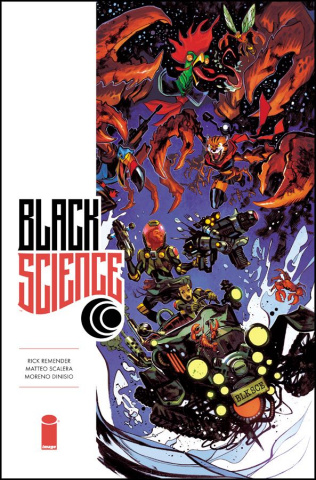 Black Science #34 (Takara Cover)