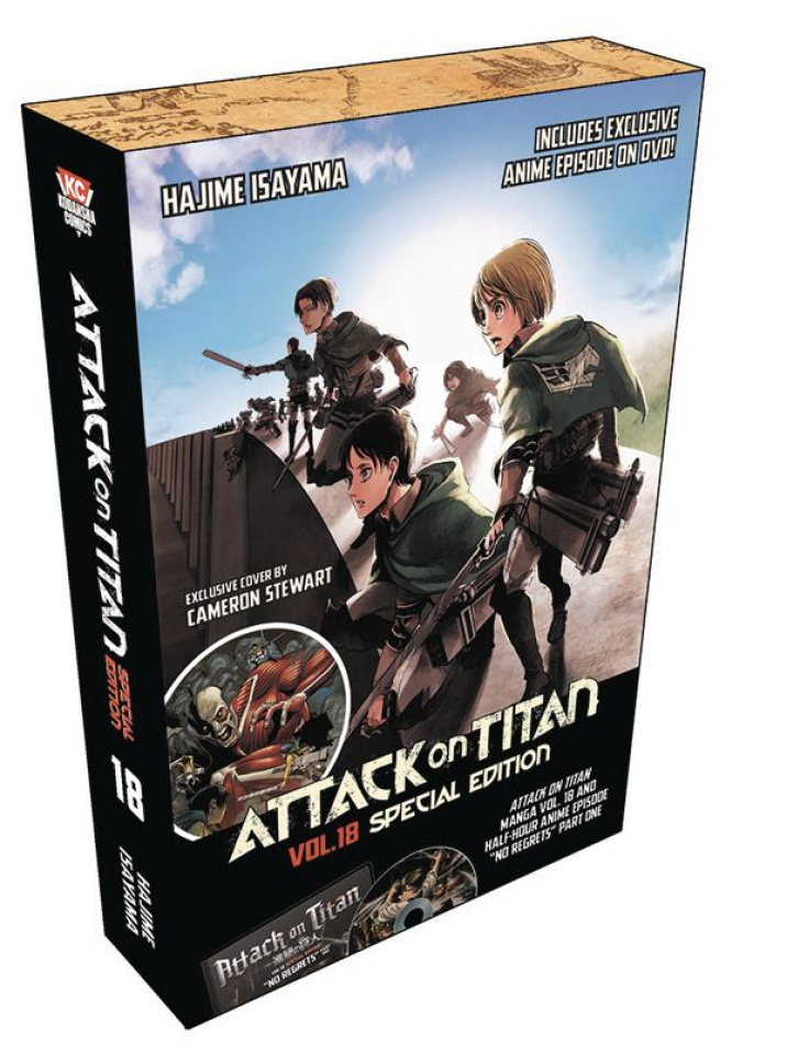 Attack on Titan Vol. 19 (Special Edition with DVD)