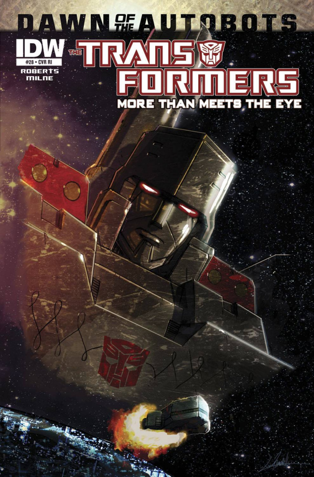 The Transformers: More Than Meets the Eye #28 (Subscription Cover)