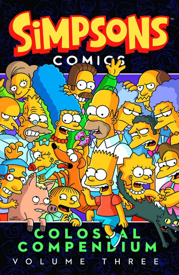 Simpsons Comics: Colossal Compendium Vol. 3