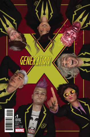 Generation X #1 (Rahzzah Cover)