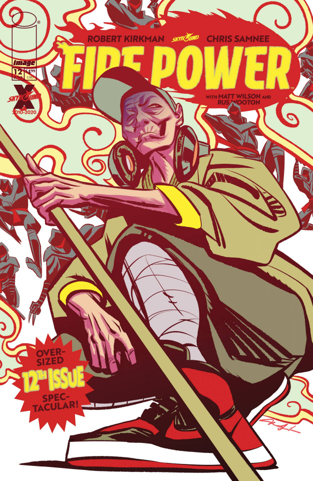 Fire Power #12 (Lee Cover)