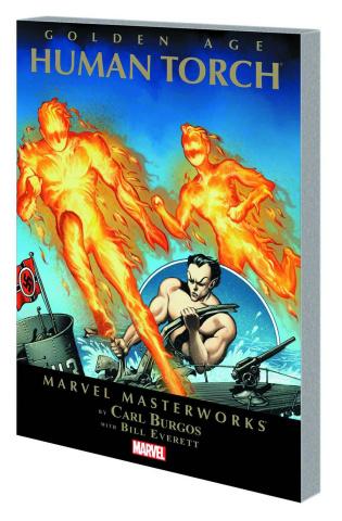 Golden Age Human Torch Vol. 1 (Marvel Masterworks)