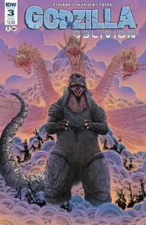 Godzilla: Oblivion #3 (Subscription Cover)