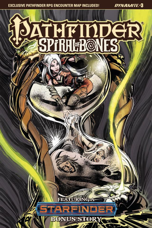 Pathfinder: Spiral of Bones #3 (Mandrake Cover)