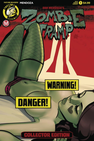 Zombie Tramp: Origins #1 (Sexy Risque Cover)