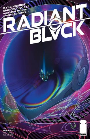 Radiant Black #10 (Monti Cover)