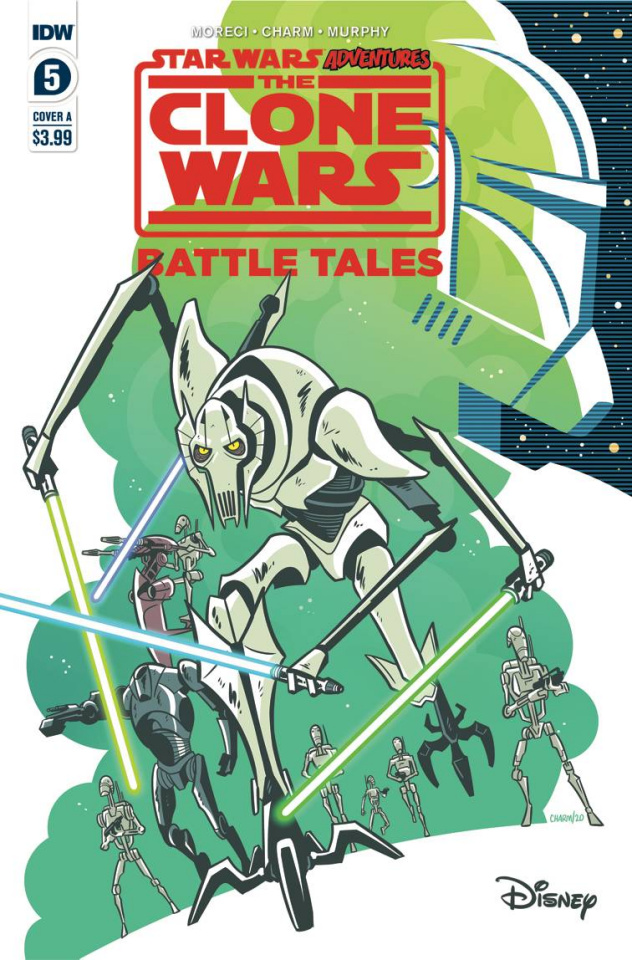 Star Wars Adventures: The Clone Wars #5 (Charm Cover)