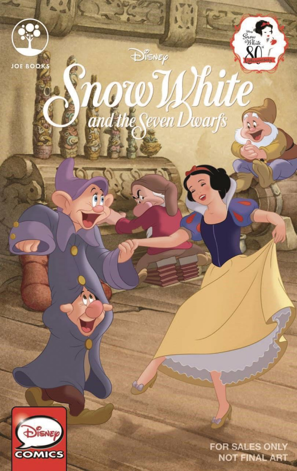 Snow White and the Seven Dwarves 80th Anniversary