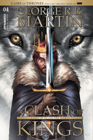 A Game of Thrones: A Clash of Kings #4 (Miller Cover)