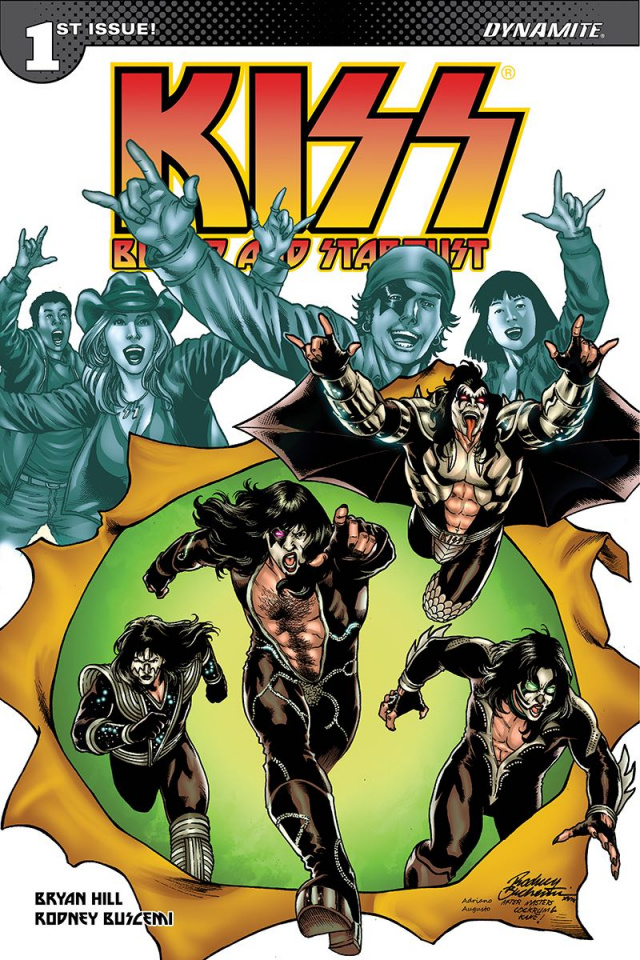 KISS: Blood and Stardust #1 (Buchemi Cover)