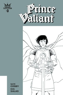 Prince Valiant #3 (10 Copy Shalvey B&W Cover)