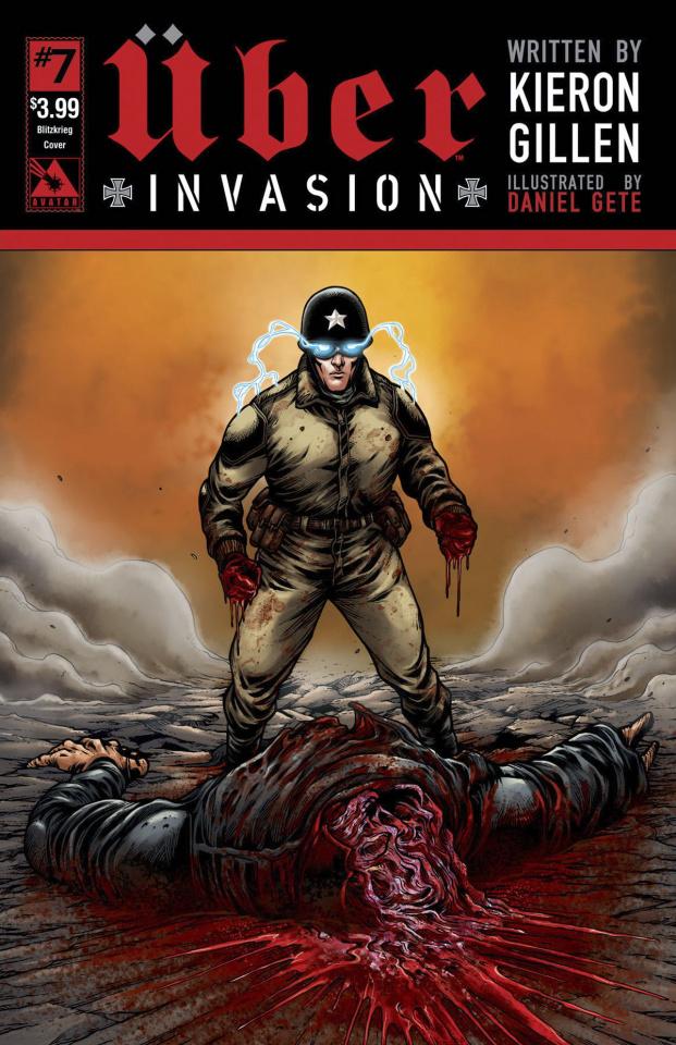 Über: Invasion #7 (Blitzkreig Cover)
