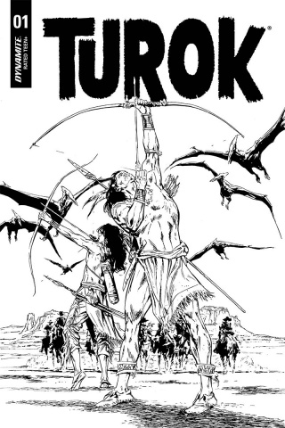 Turok #1 (40 Copy Guice B&W Cover)