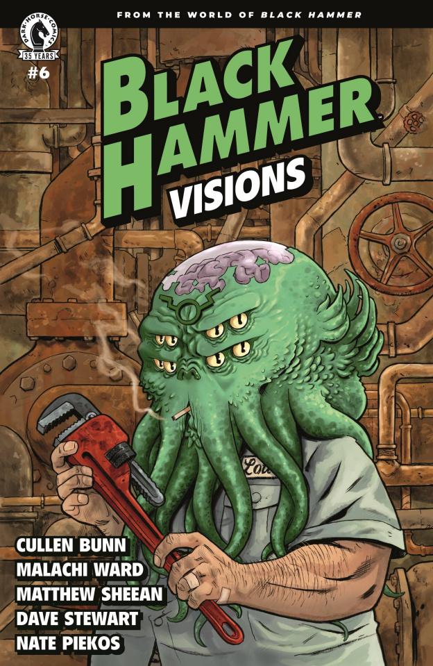 Black Hammer: Visions #6 (Hurtt Cover)