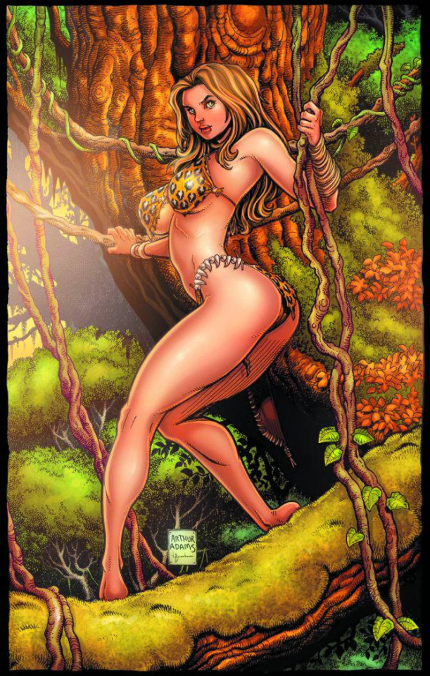 Cavewoman: The Zombie Situation #1 (Cover F)