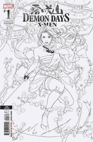 Demon Days: X-Men #1 (Campbell 3rd Printing)