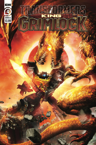 Transformers: King Grimlock #4 (Wilkins Cover)