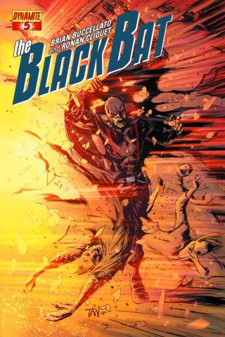 The Black Bat #5 (Subscription Cover)