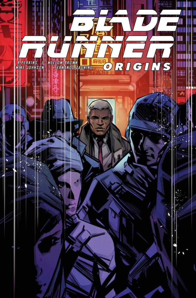 Blade Runner: Origins #3 (Hernandez Cover)