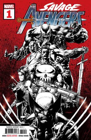Savage Avengers #1 (Deodato 2nd Printing)