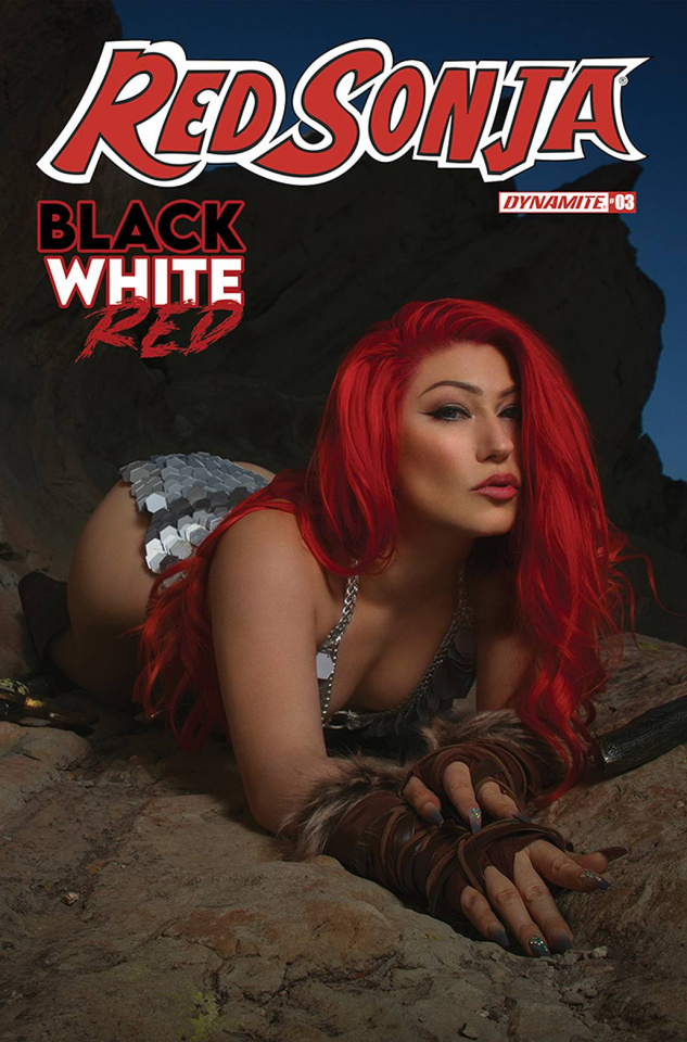 Red Sonja: Black, White, Red #3 (Cosplay Cover)
