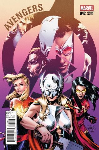 Avengers #42 (Women of Marvel Casagrande Cover)