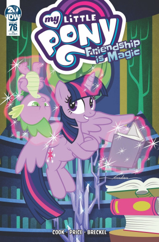 My Little Pony: Friendship Is Magic #76 (10 Copy Pereira Cover)