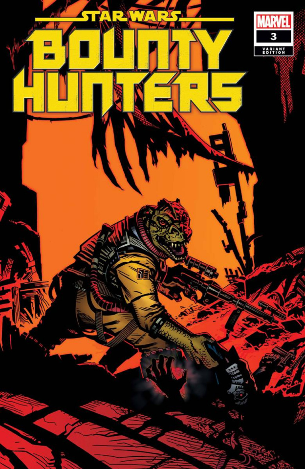 Star Wars: Bounty Hunters #3 (Golden Cover)