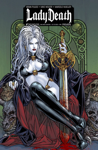 Lady Death (Premiere San Diego Cover)