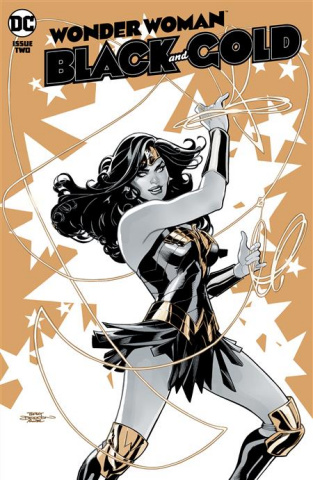 Wonder Woman: Black and Gold #2 (Terry Dodson Cover)