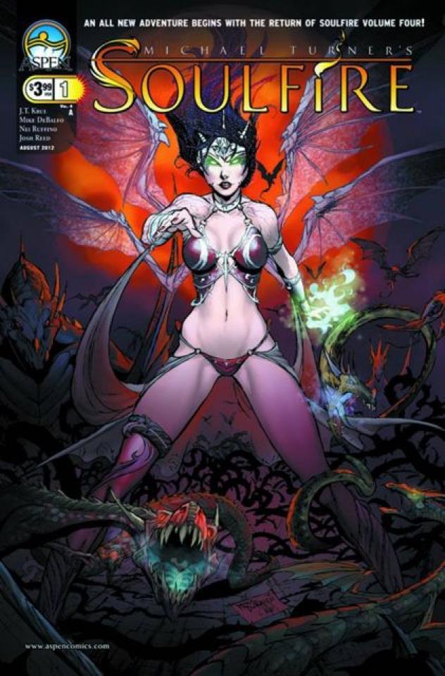 Soulfire #1 (Debalfo Cover)