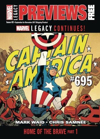 Marvel Previews #26: September 2017 Extras
