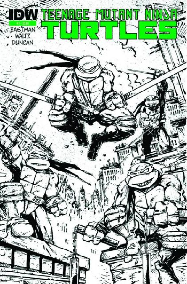 Teenage Mutant Ninja Turtles #1 (Global Conquest Edition)