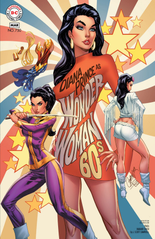 Wonder Woman #750 (1960s Cover)