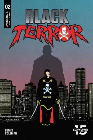 Black Terror #2 (Fornes Cover)
