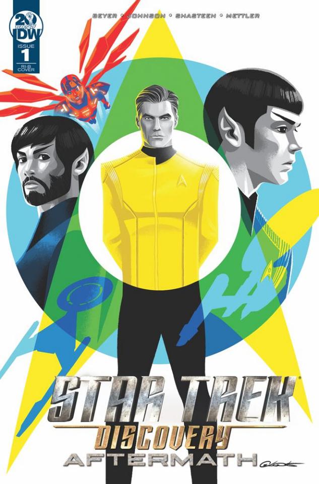 Star Trek Discovery: Aftermath #1 (25 Copy Caltsoudas Cover)