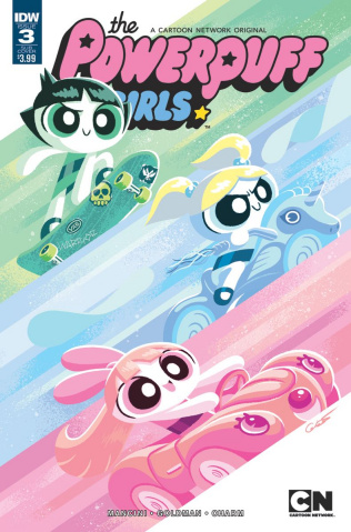 The Powerpuff Girls #3 (Subscription Cover)