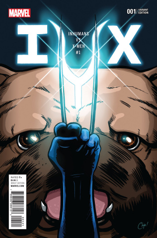 IvX #1 (Party Cover)