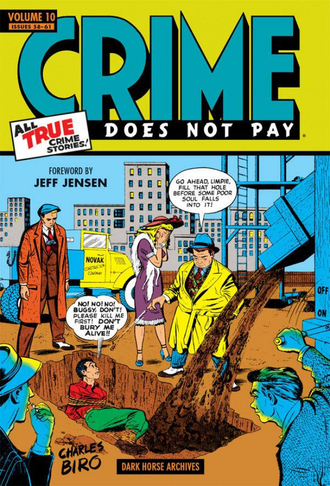 Crime Does Not Pay Archives Vol. 10