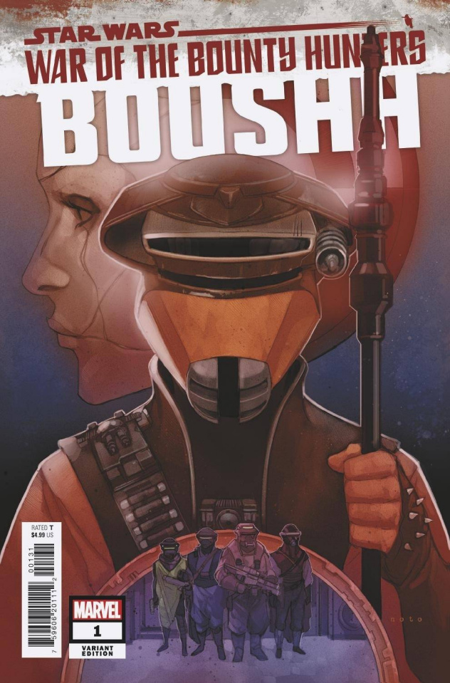 Star Wars: War of the Bounty Hunters - Boushh #1 (Noto Cover)