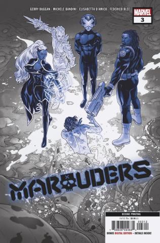 Marauders #3 (Dauterman 2nd Printing)
