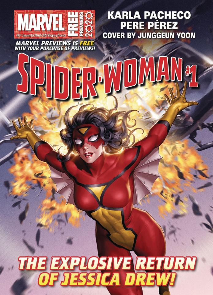 Marvel Previews #30: January 2020 Extras