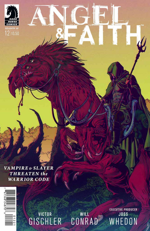 Angel and Faith, Season 10 #12 (Norton & Englert Cover)