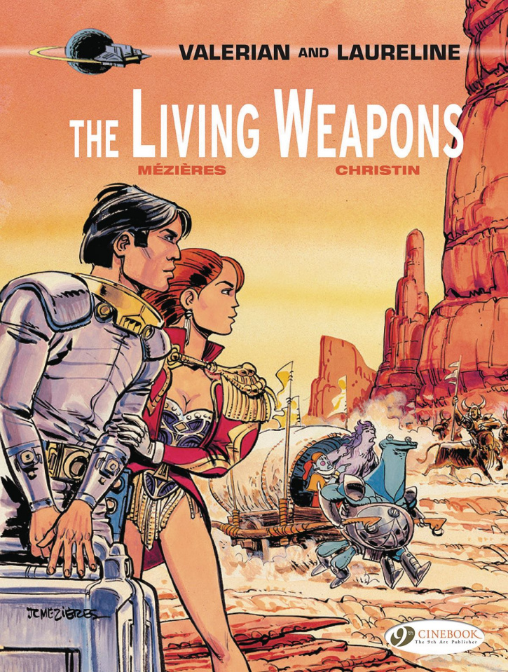 Valerian and Laureline Vol. 14: The Living Weapons