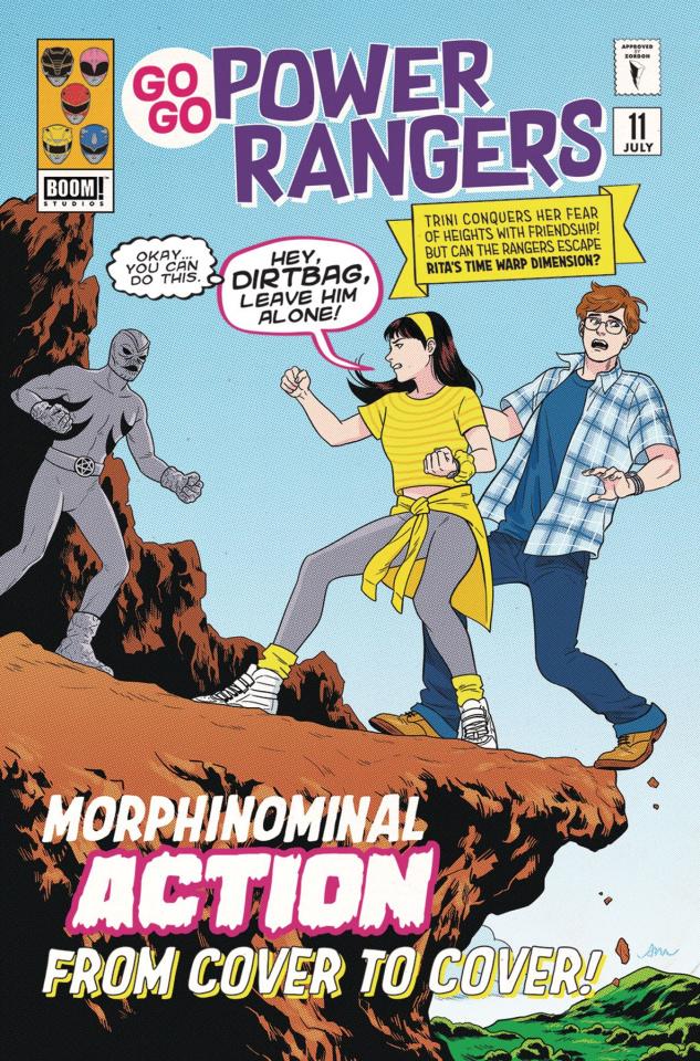 Go, Go, Power Rangers! #11 (Subscription Mok Cover)