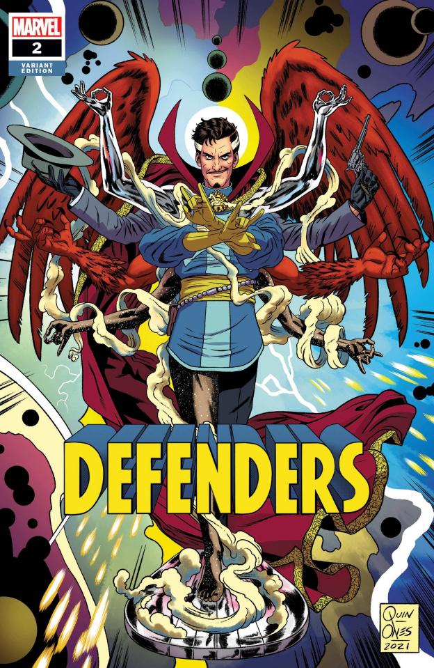 Defenders #2 (Quinones Cover)