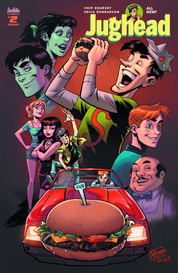 Jughead #2 (McClaine Cover)
